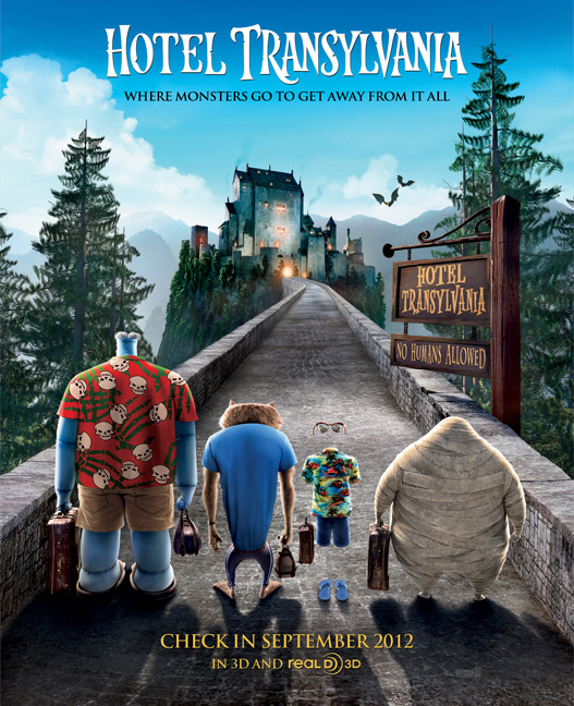 Hotel Transylvania with Adam Sandler hits theatres on Sept. 28, 2012
