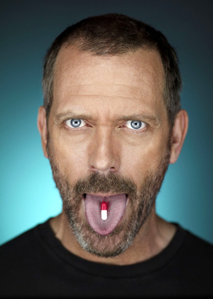Hugh Laurie as Dr. Gregory House for the sixth season of House
