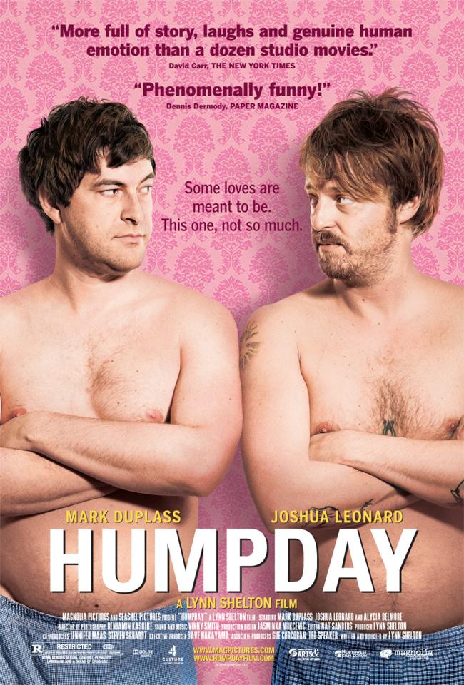 Humpday stars Mark Duplass and Joshua Leonard from director Lynn Shelton