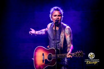 White Lion lead singer Mike Tramp performs at the RocHaus