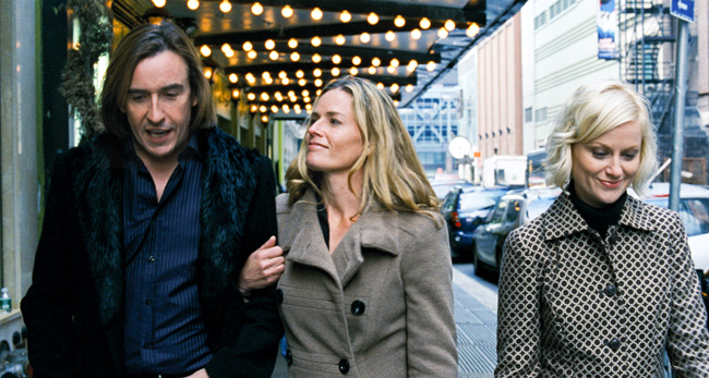 Steve Coogan (left), Elisabeth Shue (center) and Amy Poehler (right) star in Andy Fleming's comedy Hamlet 2