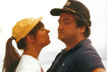Judy and John Belushi