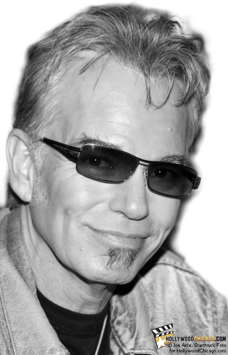 Billy Bob Thornton in Chicago with his band The Boxmasters on Aug. 29, 2008