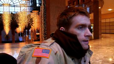 Tomas Young visits Ground Zero in Body of War
