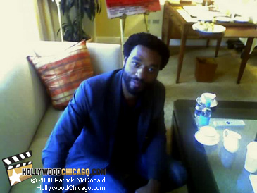 Chiwetel Ejiofor in Chicago on March 31, 2008 for Redbelt