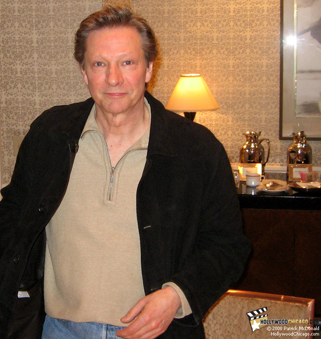 Actor Chris Cooper for Married Life in Chicago on Feb. 27, 2008; photo by Patrick McDonald, HollywoodChicago.com