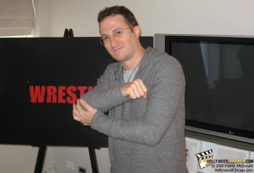 The Wrestler director Darren Aronofsky in Chicago