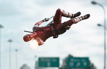 Deadpool with Ryan Reynolds