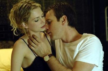 Michelle Williams (left) and Ewan McGregor in Deception