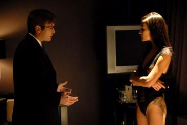 Ewan McGregor (left) and Maggie Q in Deception