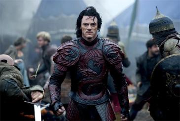 Dracula Untold with Luke Evans