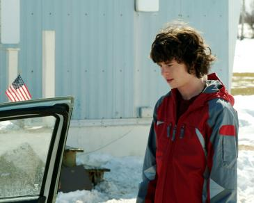 Charlie McDermott as TJ Eddy in Frozen River