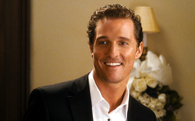 Matthew McConaughey stars as Connor Mead in Ghosts of Girlfriends Past