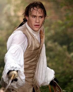 Heath Ledger in Casanova in 2005