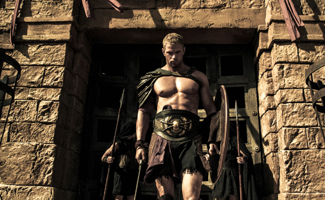 Kellan Lutz stars in The Legend of Hercules