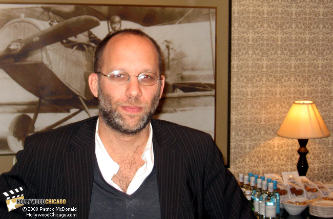 Director Ira Sachs for Married Life in Chicago on Feb. 27, 2008; photo by Patrick McDonald, HollywoodChicago.com