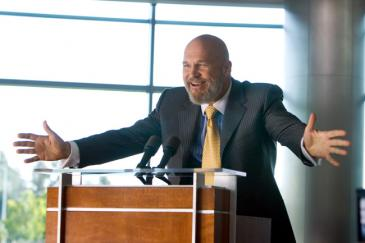 Jeff Bridges stars as Obadiah Stane in Iron Man