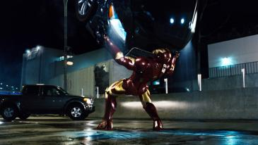 Iron Man is in the throes of a pitched battle with a determined nemesis in Iron Man