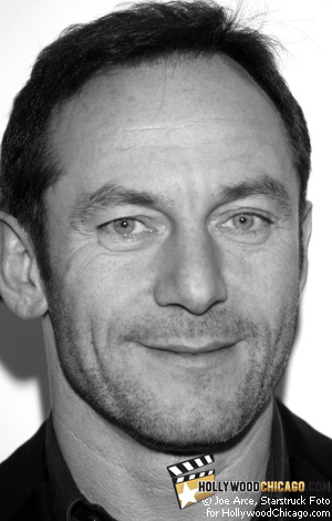 Actor<br /> Jason Isaacs greets the HollywoodChicago.com camera on the red carpet for the film Good on Oct. 29, 2008 on the closing night of the 2008 Chicago International Film Festival
