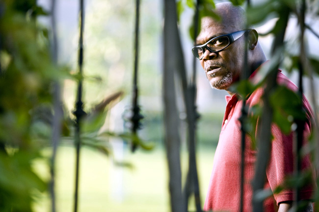 Samuel L. Jackson as Abel Turner in Lakeview Terrace