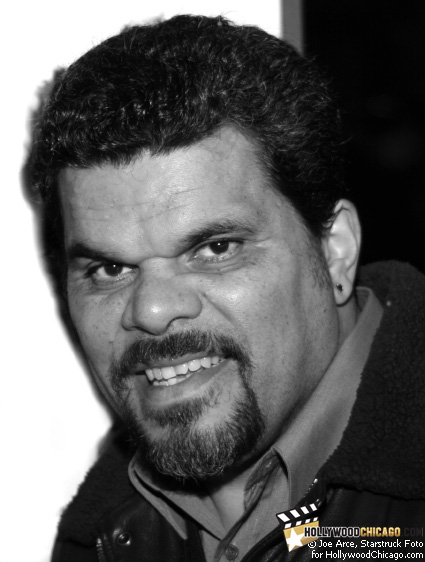 Luis Guzman poses for the HollywoodChicago.com lens in Chicago on Dec. 1, 2008 at the Music Box Theatre for the red-carpet premiere of Nothing Like the Holidays