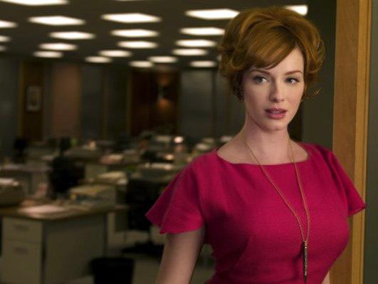 Christina Hendricks in Mad Men on AMC