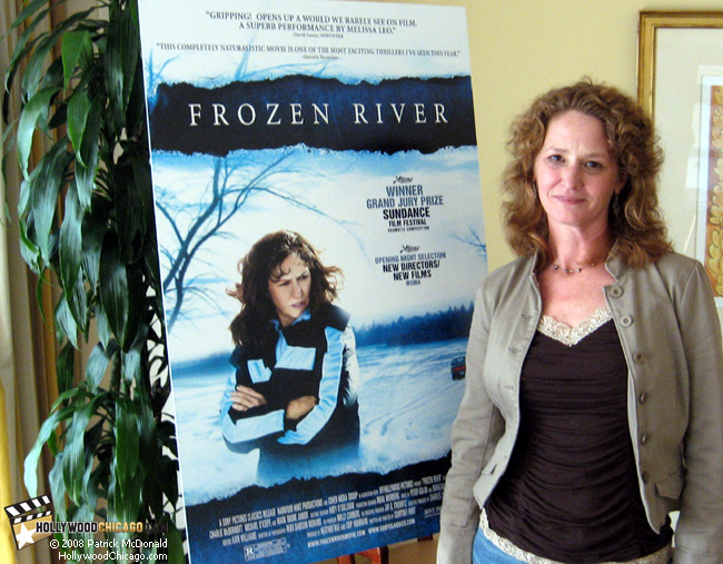 Frozen River star Melissa Leo in Chicago on July 16, 2008