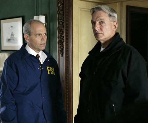 NCIS on CBS with Mark Harmon (right) and guest star Joe Spano (left)