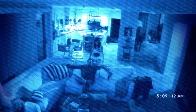 A scene from 2010's Paranormal Activity 2