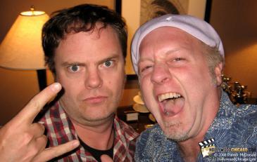 Rainn Wilson in Chicago, Patrick McDonald, The Rocker (10)