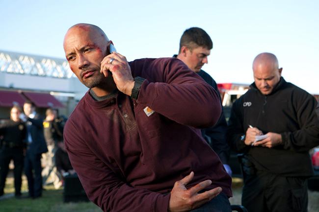 Dwayne Johnson stars in Snitch
