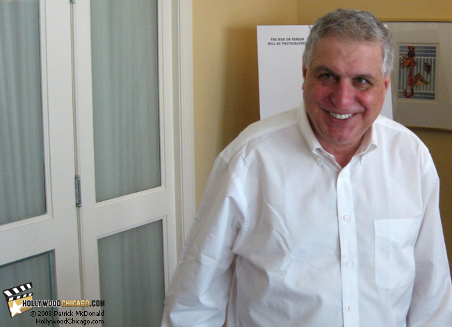 Standard Operating Procedure director Errol Morris in Chicago on April 15, 2008