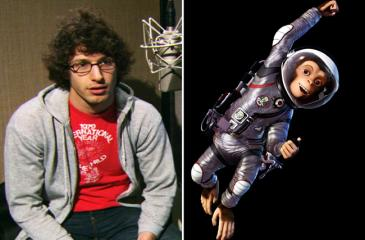 Andy Samberg voices Ham III in Space Chimps