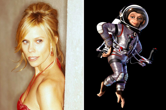 Cheryl Hines voices Luna in Space Chimps