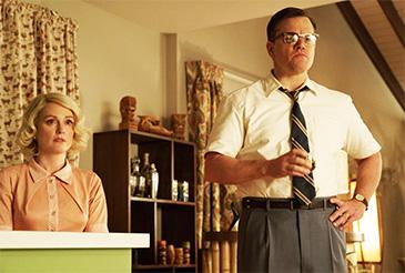 Suburbicon with Matt Damon