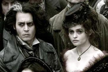 Johnny Depp and Helena Bonham Carter in Sweeney Todd: The Demon Barber of Fleet Street