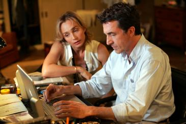 Francois Cluzet (right) and Kristin Scott Thomas in Tell No One