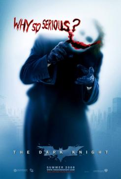 A WhySoSerious.com viral marketing movie poster for The Dark Knight