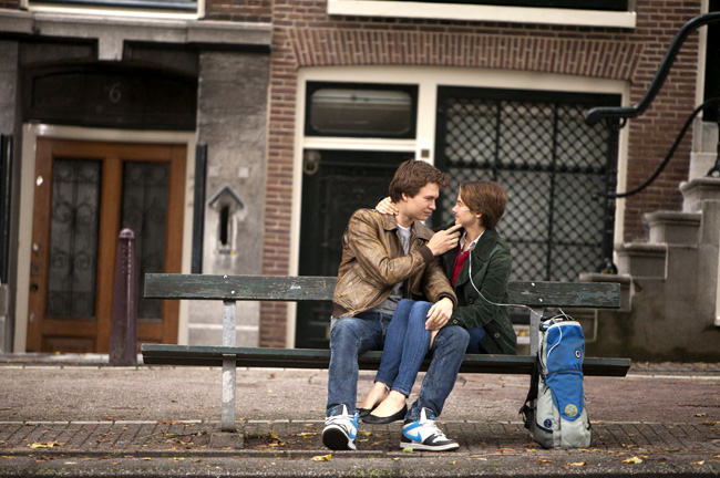 Shailene Woodley and Ansel Elgort in The Fault of Our Stars