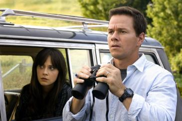 Elliot (Mark Wahlberg) and Alma (Zooey Deschanel) take a closer look at an encroaching and powerful threat in The Happening