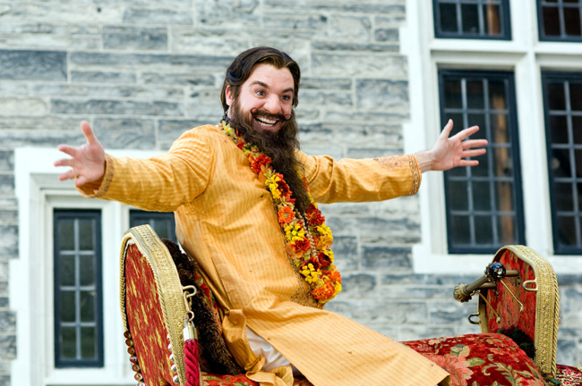 Mike Myers stars as Guru Pitka in the comedy The Love Guru