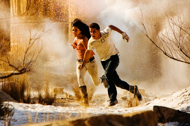 Megan Fox and Shia LaBeouf in Transformers: Revenge of the Fallen