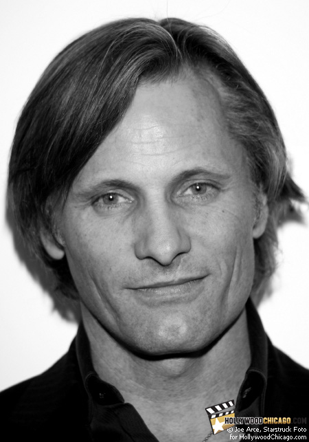 Academy Award nominee Viggo Mortensen on Oct. 29, 2008 prior to receiving a career achievement award at the U.S. premiere of his new film Good on the closing night of the 2008 Chicago International Film Festival