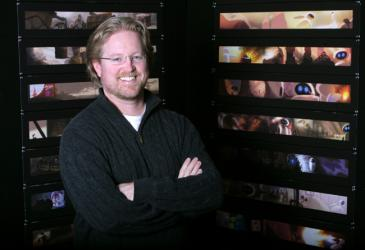 WALL-E director Andrew Stanton has his headshot taken on Feb. 28, 2007 at Pixar Animation Studios in Emeryville, Calif.