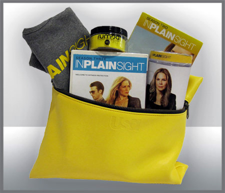 Our prize pack for season four of In Plain Sight