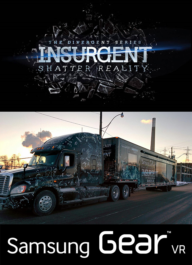 The 4D virtual reality experience Insurgent: Shatter Reality