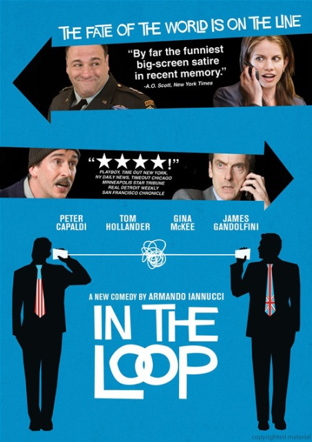 In The Loop was released on Blu-Ray and DVD on January 12th, 2010.