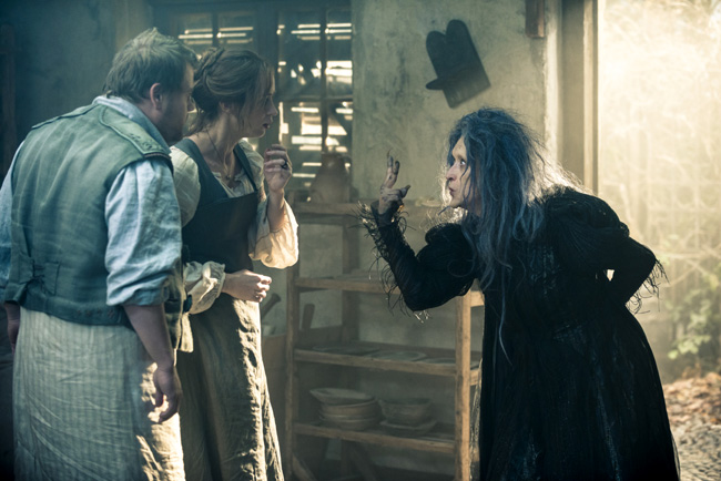 James Corden, Emily Blunt and Meryl Streep in Into the Woods