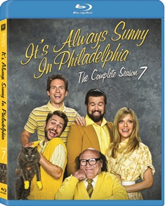 It's Always Sunny in Philadelphia: The Complete Season 7 was released on Blu-ray and DVD on October 9, 2012