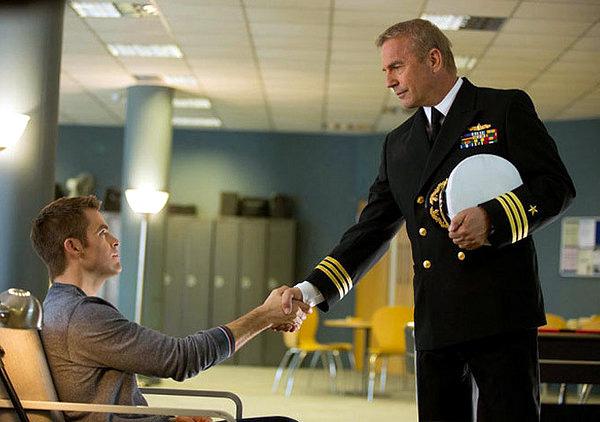 Kevin Costner in Jack Ryan: Shadow Recruit